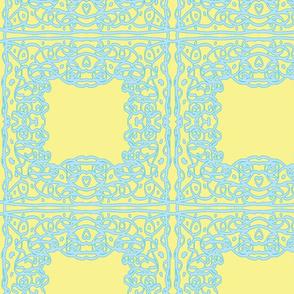 Jan's Spring Air Bandanna1 yellow blue