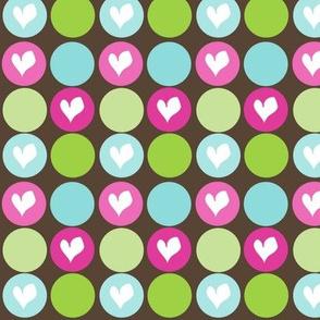 PP Multi Heart Dots