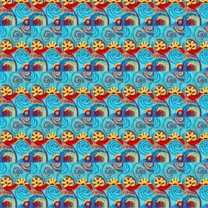 swirly embroidery