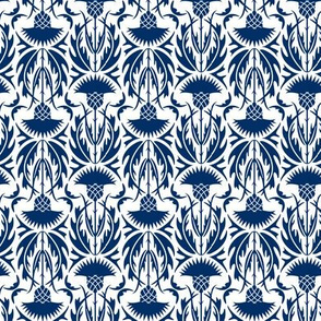 Thistle Field in Navy