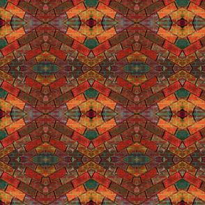 Brick Upon Brick Mosaic