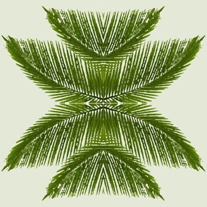 watercolour palm
