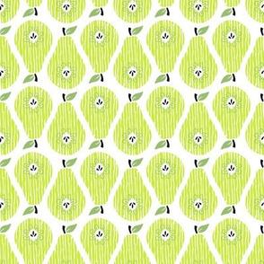 Pear Up Pear Down Green