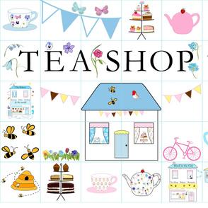 The Tea Shop quilt