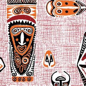 New Guinea Masks 1c
