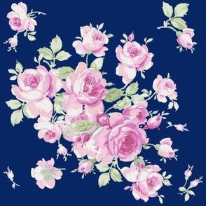 Lake Maria Pink Roses on ink