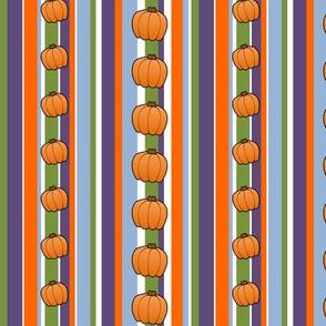 Pumpkin Carving - Stripes w/ Pumpkins