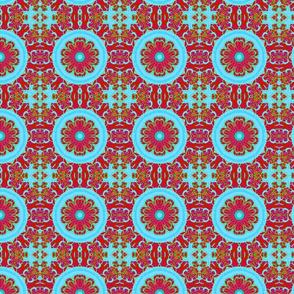 abstract flower kaleidoscope