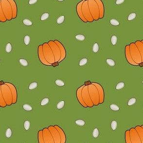 Pumpkins & Seeds - Green