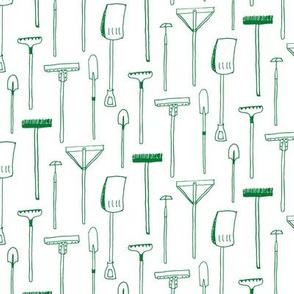 Farm Tools - Green