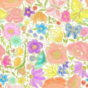In the Garden - Bright
