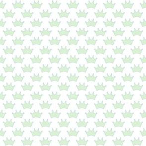 little mint crowns