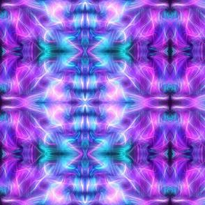 Aurora in Blue, Purple