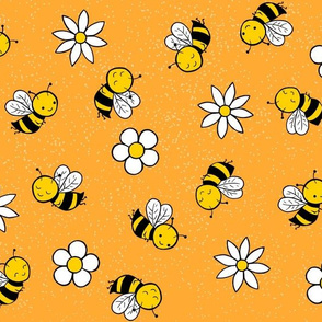 busy bees - orange