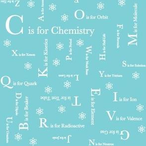 C is for Chemistry (Light Blue)