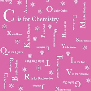C is for Chemistry (Pink)