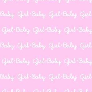 Baby Girl Stripe (Pink)