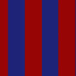 Large Vertical Red and Blue