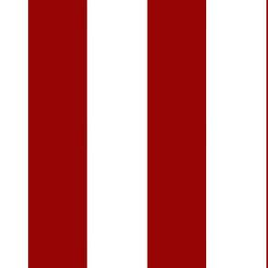 Large Vertical Red Stripe