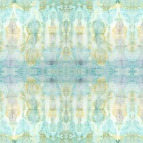 Shibori Aqua Watercolor | Michelle Mathis