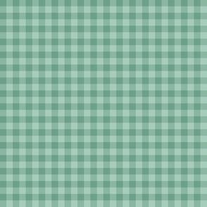 spring mint gingham