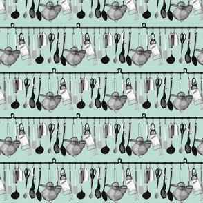 hanging utensils