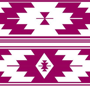 solid orchid kilim