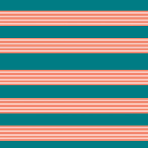 Raspberry slushy stripe