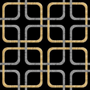 Squircle Lock ~ Silver and Golden ~ Blackmail