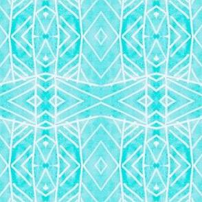 Blue Watercolor  Prism