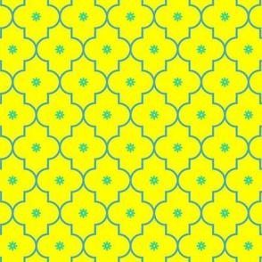 Morocca flower yellow