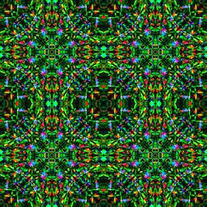 Green Mandala Design