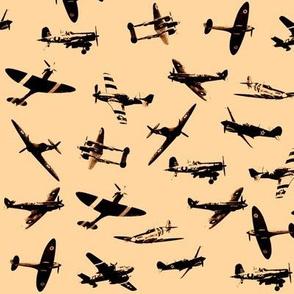 Retro Aviator Sepia