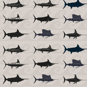 Black + Neutral Billfish Slam