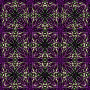 Purple Retro Pattern