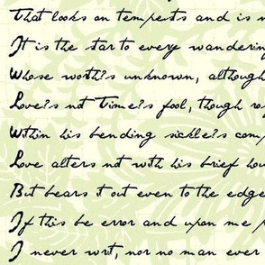 Sonnet 116