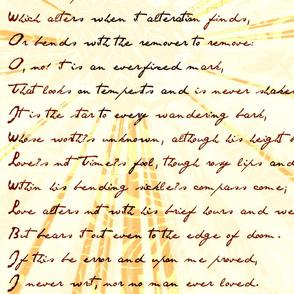 Variation Sonnet 116