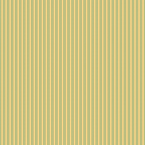 Ferris Wheel Stripe in Green and Yellow