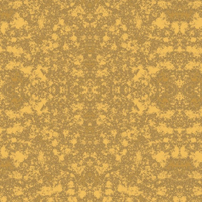 Lichen in Gold and Brown © 2010 Gingezel™ Inc.