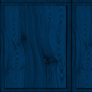 Blue Wood Panels