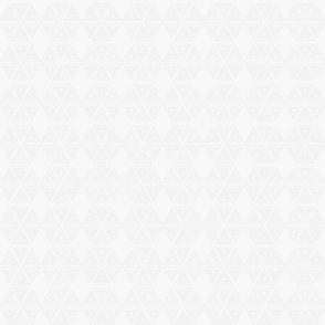 Segmented Hexies in White