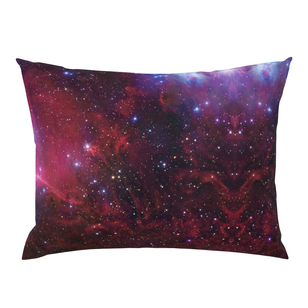 Campine Pillow Sham featuring Purple galaxy by aspie_giraffe