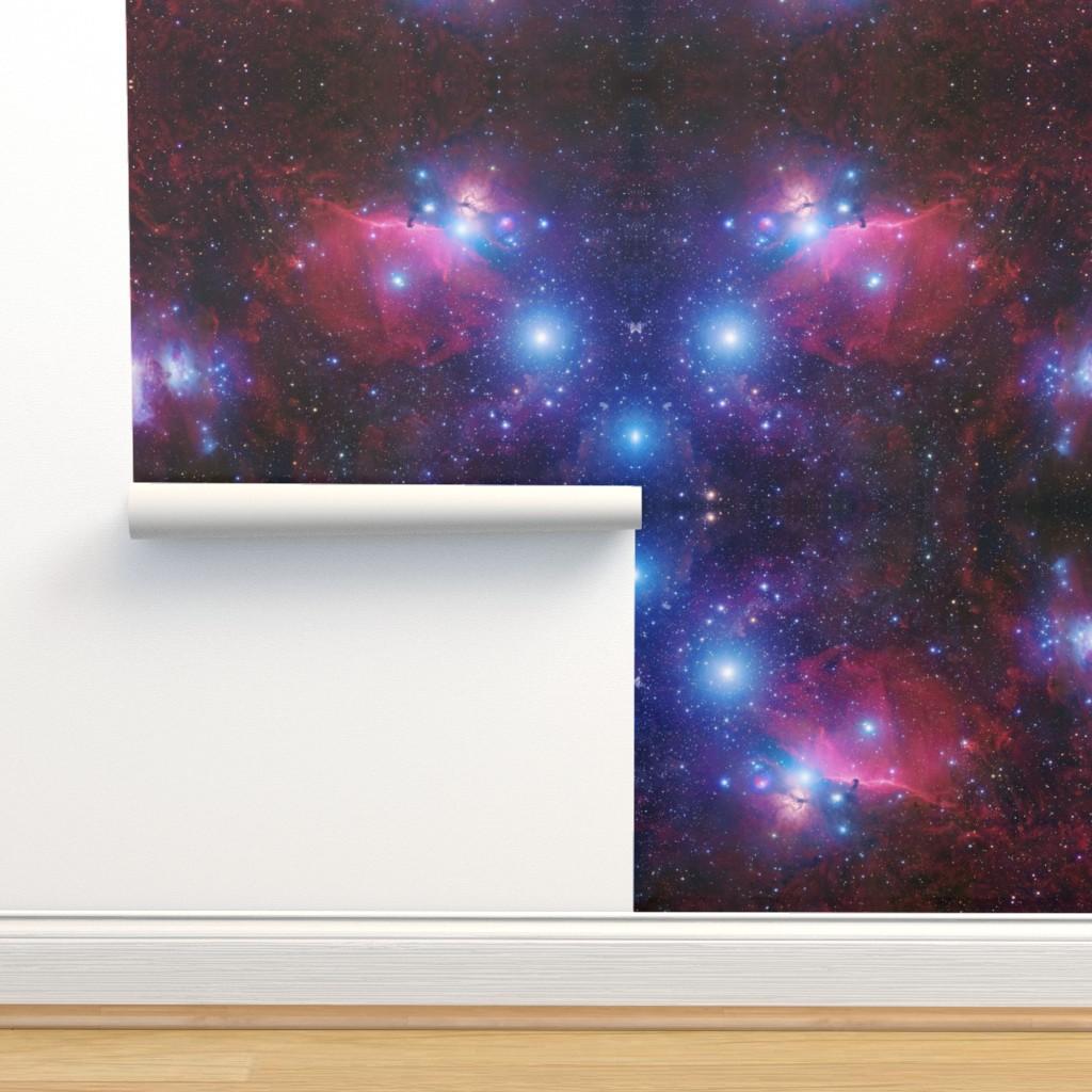 Isobar Durable Wallpaper featuring Purple galaxy by aspie_giraffe
