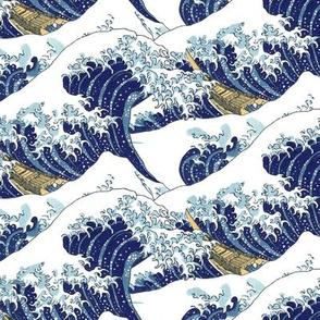 "the lesser waves of Hokusai (10"")"