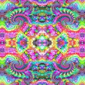 Hippie Fractal Pattern