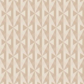 Beige Bows Op Art Small