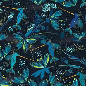 Cosmic birds