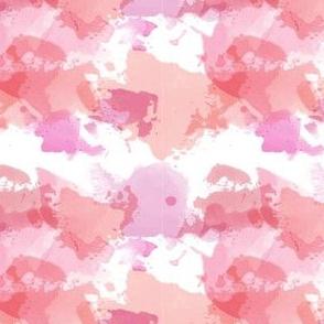 Watercolor Repeat Pinks