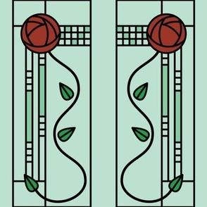 Mackintosh Glasgow Rose (green)