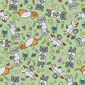 Science Cats Rotated